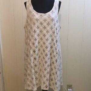 Plus size Lace Floral Dress